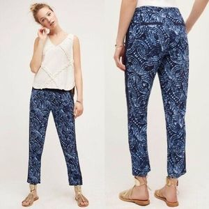 Hei Hei For Anthropologie Blue Marnee Joggers